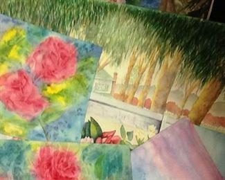 Watercolor Bonanza of Doris Avilas