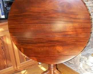 large tilt top table
