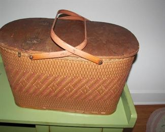 one of many baskets