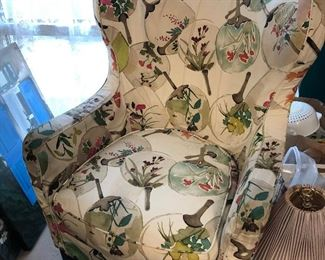 Wing back Occasional Chair