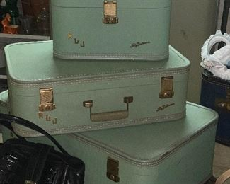Vintage suitcases in great shape