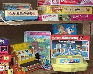 Puzzles, playskool