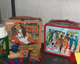 Fox and hound lunch box