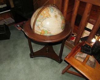 "Replogle world classic sereis 16"" diameter floor globe"