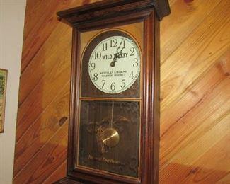Wild Turkey wall clock