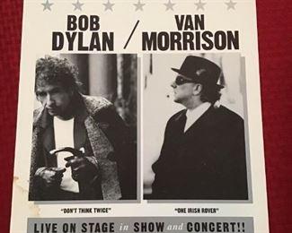 Bob Dylan and Van Morrison at Madison Square Garden https://ctbids.com/#!/description/share/251144