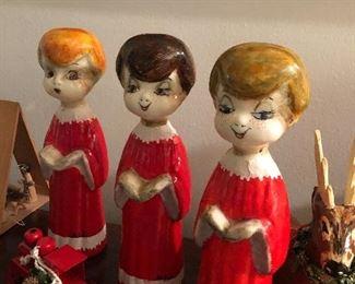 Vintage CHRISTMAS choir boys