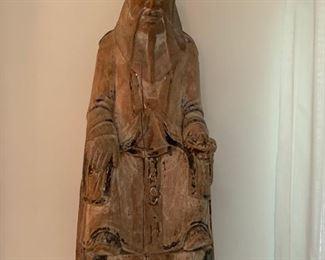 78. Antique Carved Wood Budda