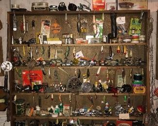 Vintage Fishing Lures, Vintage Fishing Reels