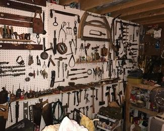Collection of Vintage Hand Tools