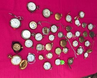 Vintage Pocket Watch Collection