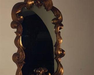 Ornate design mirror