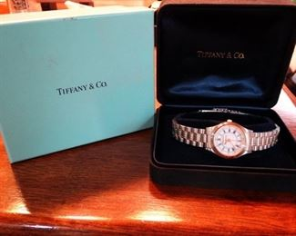 Tiffany Portfolio Union Pacific Watch