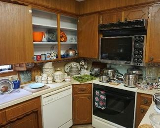 Pots and pans, kitchen