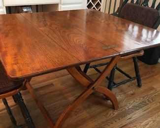 antique breakfast table