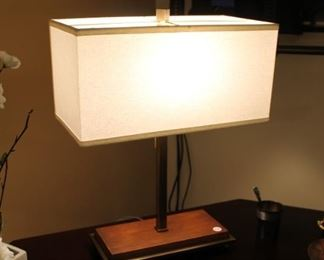 Pottery Barn contemporary modern table lamp