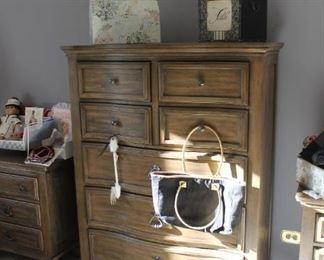 Ashley highboy dresser