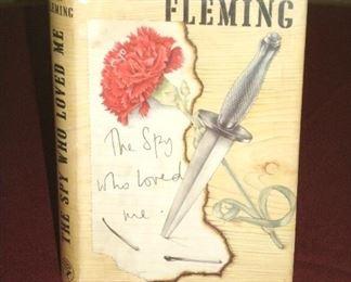 ORIGINAL 1962 UK FIRST PRINTING IAN FLEMING THE SPY WHO LOVED ME BOOK(JAMES BOND)