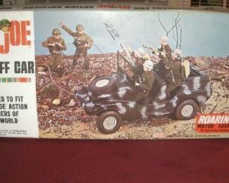 1964 GI-JOE STAFF CAR IN ORIGINAL BOX