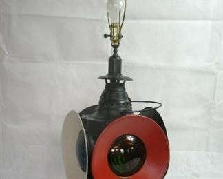 ARLINGTON NJ TRAIN LAMP