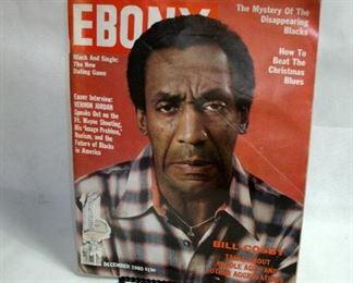 VINTAGE 1980 EBONY MAGAZINE (BILL COSBY)