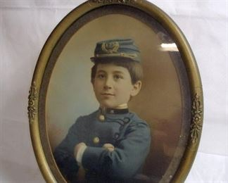 EARLY CIVIL WAR PHOTO OF BOY BY NEWMAN