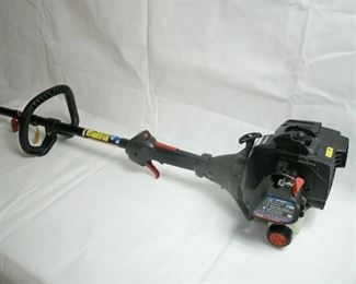 WORKING GAS POWER WEED TRIMMER