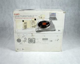(NEW IN BOX) ION USB TURNTABLE