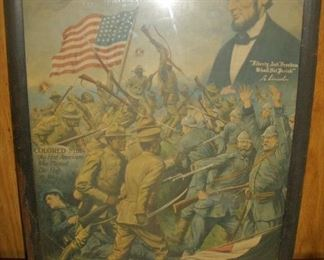 WORLD WAR I TRUE SONS ABE LINCOLN ORIGINAL ART
