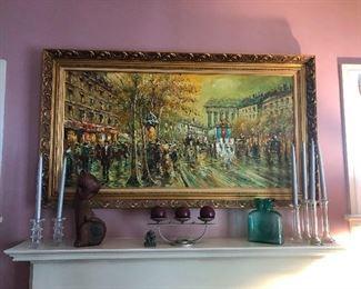Fancy original oil painting