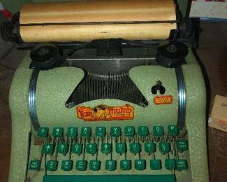 seasick typewriter