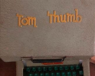 Tom Thumb poor guy had to jump on the keys one by one