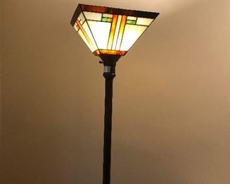 Frank Lloyd Wright type floor lamp