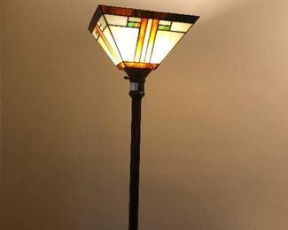 Frank Lloyd Wright type floor lamp