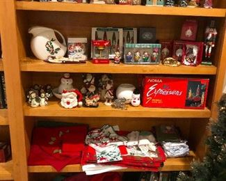 Shelves of holiday cheer