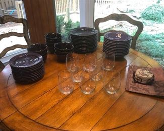 Not enough wine glasses. Also, not any wine.