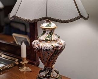 Capodimonte lamp (1 of 2)