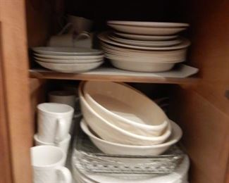 Assorted dishes