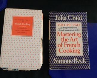 Julia Child  cookbooks 1st edition