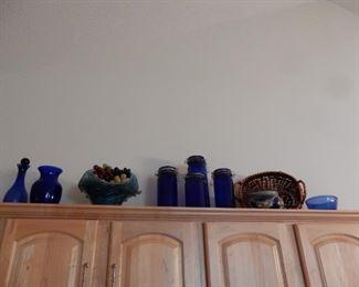 Decorative art glass, etc.