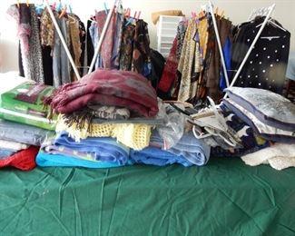 Ladies clothing & scarves