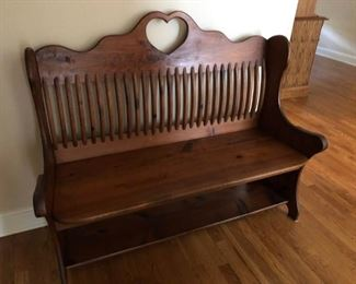 Beautiful Wood Bench