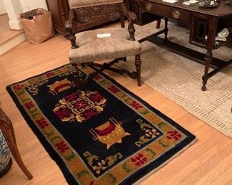 Chinese hand knotted carpet