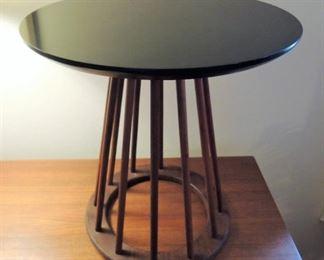 "Spindle side table 18"" by Arthur Umanoff for Washington Woodcraft"