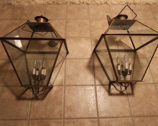 Set of Antique Chandeliers From Franklin Hills County Club (Large)