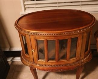Antique Wooden Decorative Console: $200