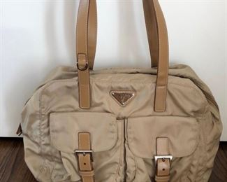 Vintage Prada Nylon Handbag (like new)- $300