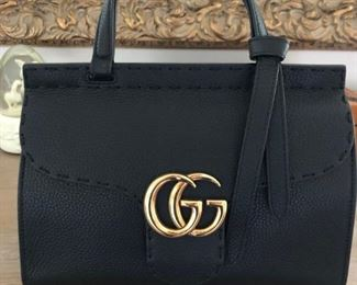 Brand New Gucci Leather Marmont Handbag - $1800