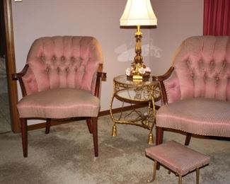 Darling upholstered chairs