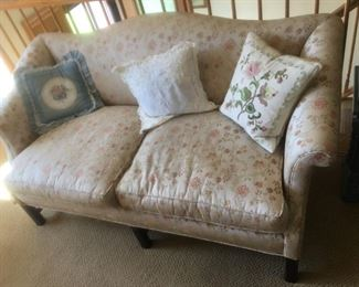 1950's Chippendale Down Filled Sofa